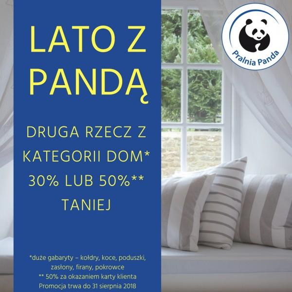 Letnia Promocja W Pralni Panda Ruda śląska Plaza